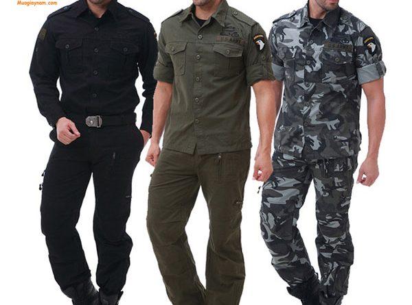 Cách phối đồ với giày cao cổ nam phong cách military 2