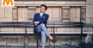 Phối đồ với giày lười nam phong cách khỏe khoắn