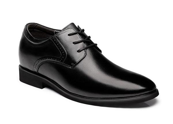 Nam thấp nên đi giày có mũi tròn