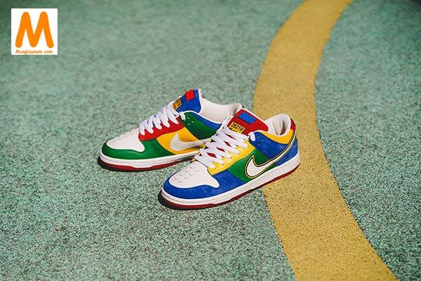 Nike SB Dunk Low LEGO đầy màu sắc - Ảnh 2