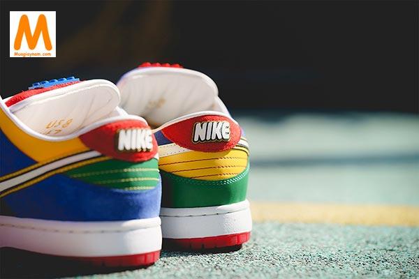 Nike SB Dunk Low LEGO đầy màu sắc - Ảnh 6