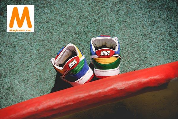 Nike SB Dunk Low LEGO đầy màu sắc - Ảnh 8