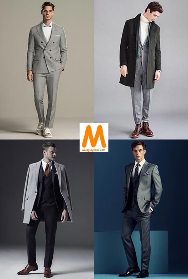 Quần tây và đồ suit nên mang giày gì?