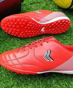Giày đá bóng Sigo cổ thấp - Màu Đỏ Hồng