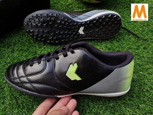 Giày đá bóng Sigo cổ thấp - Màu Đen Tuyền