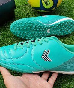 Giày đá bóng Sigo cổ thấp - Màu Xanh Ngọc Bích