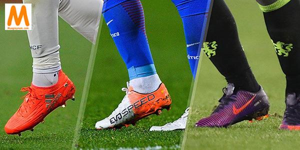 Cách chọn giày đá bóng sân cỏ nhân tạo theo chất liệu