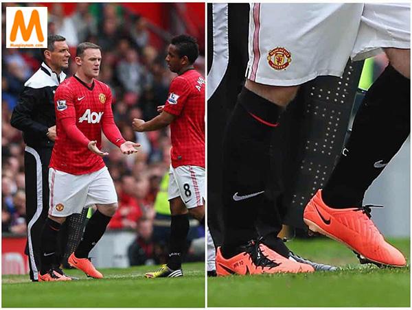 T90 là dòng giày đá bóng thường được Rooney sử dụng